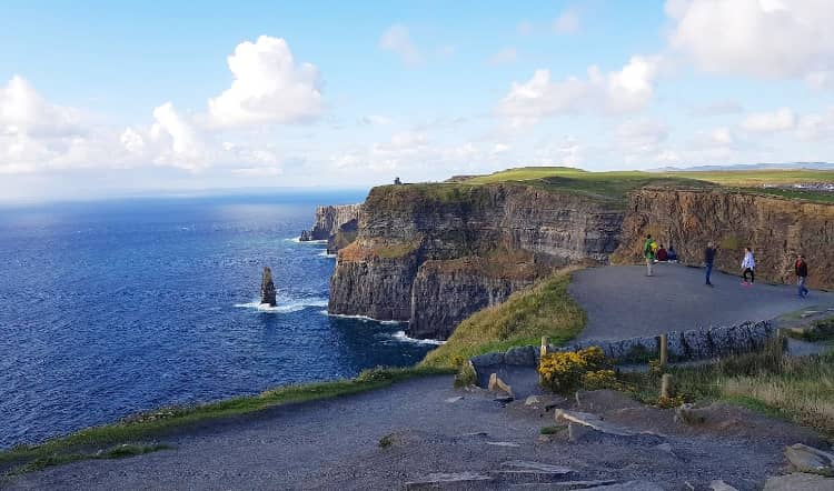 sights at Cliffs of Moher are really stunning